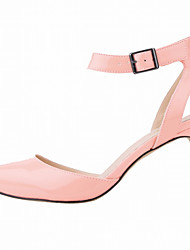 cheap -Women's Heels Stiletto Heel Pointed Toe Patent Leather Minimalism Walking Shoes Spring &  Fall / Spring & Summer Light Blue / White / Orange