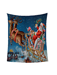 cheap -Christmas Luxury Car 3D Printed Soft Breathable Polyester Customized Sofa Blanket