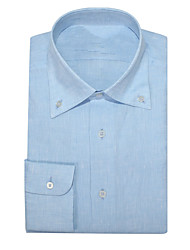 cheap -Sky Blue Oxford Button Down Shirt