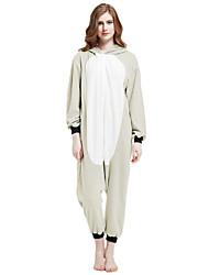 cheap -Adults' Kigurumi Pajamas Koala Animal Onesie Pajamas Polar Fleece Gray Cosplay For Men and Women Animal Sleepwear Cartoon Festival / Holiday Costumes
