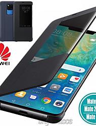 cheap -Luxury Leather Flip Case For Huawei P30 P20 P10 Pro Mate 30 10 20 Pro Nova 3 3i 4 5 Pro Y6 Y7 Honor 5X 20 Smart View Phone Case