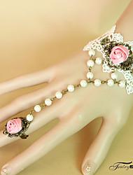 abordables -Femme Ethnique bracelet Fleur