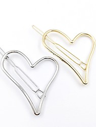 cheap -Women's Ladies For Daily Alloy Gold Silver 1pc