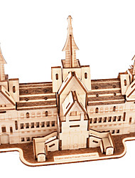 cheap -3D Puzzle Wooden Puzzle Famous buildings Simulation Hand-made Wooden 112+127 pcs Kid's Adults' All Toy Gift