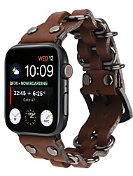 cheap -Watch Band for Apple Watch Series 5/4/3/2/1 Apple Sport Band / Classic Buckle Genuine Leather Wrist Strap