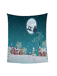cheap -Soft Warm Blanket for Dormitory Christmas Customized Flannel Fleece