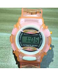 Недорогие -Спортивные часы Кварцевый Синий / Зеленый / Серый Конфеты - Лиловый Розовый Зеленый
