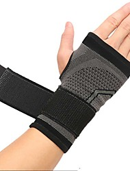 cheap -Hand & Wrist Brace Wrist Wraps Sports Nylon Gym Workout Weightlifting Bodybuilding Durable Wrist Support Full Palm Protection & Extra Grip Breathable For Men Women