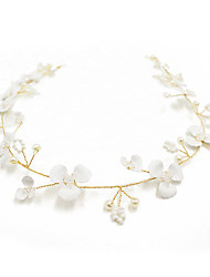 cheap -Crystal / Alloy Headbands / Hair Tool / Hair Accessory with Crystal / Pearl / Floral 1pc Wedding Headpiece