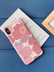 Недорогие -Кейс для Назначение Apple iPhone 11 / iPhone 11 Pro / iPhone 11 Pro Max Защита от пыли / Ультратонкий / Рельефный Кейс на заднюю панель Слова / выражения / Цветы ТПУ