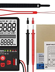 cheap -BSIDE 9999 Counts Smart Multimeter True RMS Digital Multimeter Measuring AC/DC Voltage Resistance Frequency with LCD Display DC/AC Voltage Meter Resistance Capacitance Diode Tester Measure Continuity