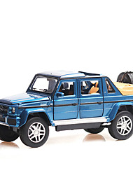 cheap -1:32 Toy Car Music Vehicles Car SUV Climbing Car Special Designed Glow Parent-Child Interaction Zinc Alloy Rubber ABS+PC All Boys and Girls / Kid's