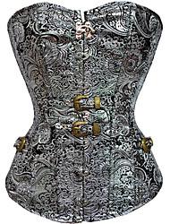Недорогие -Нормальная Полиэфир Корсет Сексуальные платья Геометрический принт Вечерние Рисунок Корректирующее белье
