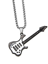 cheap -Keychain Novelty Musical Instruments Guitar Zinc Alloy Unisex Toy Gift