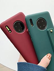 cheap -Case For Huawei Huawei Nova 3i / Huawei Nova 4 / Huawei nova 4e with Stand Back Cover Solid Colored TPU p10 p20 p30 mate20 mate30pro nova2s nova5i