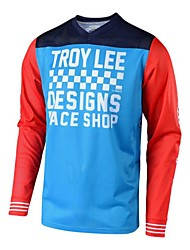 cheap -TLD speed down long sleeve breathable Motorcycle Jersey cross country racing suit mountain bike cycling suit