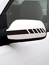 cheap -2PCS Car Stickers Side Window Decal For Ford Focus 2 3 1 MK2 MK3 MK1 Captivating Window Decoration Sport Decals Auto Accessories