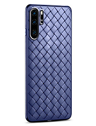 Недорогие -huawei mate 30/30 pro / p30 / 30 pro стильный вязаный чековый дизайн противоударный задняя крышка силиконовый чехол