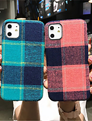 cheap -Case For Apple iPhone 11 / iPhone 11 Pro / iPhone 11 Pro Max Pattern Back Cover Lines / Waves Canvas