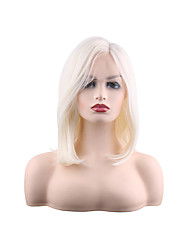 cheap -Synthetic Lace Front Wig Natural Straight Middle Part Lace Front Wig Medium Length Synthetic Hair 28 inch Women's Women Best Quality Fashion Black