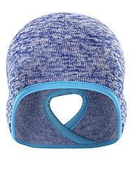 cheap -Skull Caps Ponytail Headband Ear Warmer Men's Women's Solid Colored Headwear Thermal / Warm Windproof Breathable for Running Fitness Jogging Cotton Autumn / Fall Spring Winter Fuchsia Blue