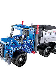 cheap -Building Blocks 200-400 pcs Vehicles compatible ABS+PC Legoing Simulation All Toy Gift / Kid's