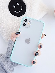 cheap -Case For Apple scene map iPhone 11 X XS XR XS Max 8 The New Ultra-thin Skin feel Frosted Acrylic Backplane TPU frame Two in one phone case