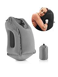 Недорогие -подушка для шеи инновационная надувная подушка для шеи для удобного сна