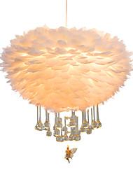 cheap -ZHISHU 4-Light 40 cm Color Gradient / Adorable Pendant Light Metal Lantern / Rope LED / Traditional / Classic 110-120V / 220-240V