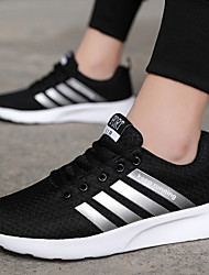 cheap -Men's Comfort Shoes Mesh Winter Athletic Shoes Running Shoes Black