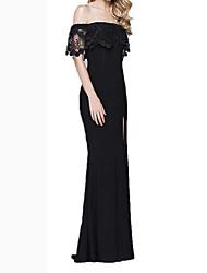 cheap -Women's Little Black Dress - Solid Colored Black S M L XL