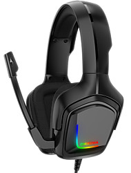 cheap -ONIKUMA K20 PS4 Gaming Headset Casque PC Gamer Stereo Gaming Headphones with Mic Led Light for XBox One Laptop Tablet