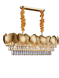 cheap -QIHengZhaoMing 10-Light 32 cm Chandelier Metal Modern 110-120V / 220-240V