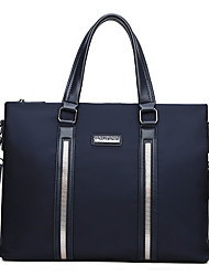 cheap -Men's Zipper Oxford Cloth / Nylon Briefcase Handbags Black / Blue
