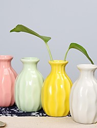 cheap -1pc Round Ceramic Artistic Table Vase