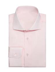 Недорогие -пыльная розовая хлопковая рубашка из твила