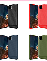 cheap -Case For Apple iPhone 11 / iPhone 11 Pro / iPhone 11 Pro Max Frosted Back Cover Solid Colored TPU