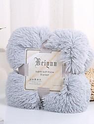Недорогие -Детские одеяла, Сплошной цвет Флис удобный одеяла