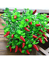 Недорогие -искусственное растение симуляция мелкий перец украшение дома фотография