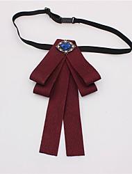 cheap -Men's Work / Basic Bow Tie - Jacquard