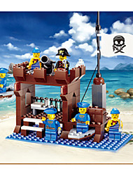 cheap -JIE STAR Building Blocks Block Minifigures Model Building Kit Construction Set Toys Educational Toy Pirate Duck Ship Pirates Unisex Boys' Girls' Toy Gift