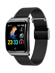 cheap -KUPENG KF9 Unisex Smartwatch Smart Wristbands Bluetooth Waterproof Heart Rate Monitor Sports Hands-Free Calls Health Care Pedometer Call Reminder Activity Tracker Sleep Tracker Sedentary Reminder