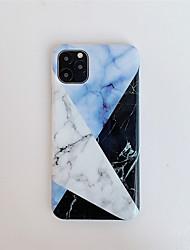 Недорогие -случай для яблочного сцены карты Iphone 11 11 про 11 про макс х хз хз хт макс 8 шить мрамор рисунок утолщенной яркий материал поверхности TPU IMD обрабатывать все включено случай мобильного телефона