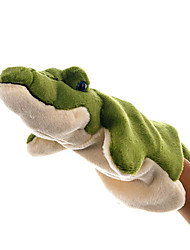 cheap -Puppets Hand Puppet Cute Lovely Crocodile Plush Fabric Plush Kid's Girls' Toy Gift