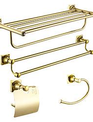Недорогие -Набор аксессуаров для ванной Многофункциональный Modern сплав цинка 4шт - Ванная комната На стену