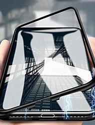 Недорогие -металлический магнитный адсорбционный стеклянный мобильный телефон универсальный чехол для мобильного телефона для huawei p20 / 30 p20plus p20por / 30por huawei mate10 / 20/30 por магнитная кнопка