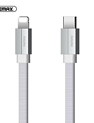cheap -Lightning Cable 1.0m(3Ft) Quick Charge Aluminum / Nylon USB Cable Adapter For iPad / iPhone