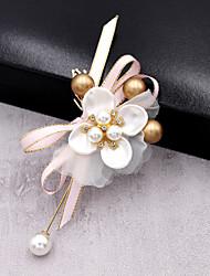 Недорогие -Свадебные цветы Декорации Свадебные прием Ткань 0-20cm