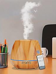 cheap -500ML Control remoto Humidificador de aire difusor de aceite esencial Humidificador fabricante de niebla LED difusor de Aroma aromaterapia