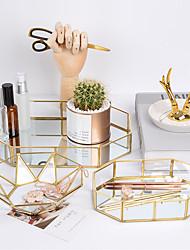 Недорогие -1 шт. Лоток для хранения ювелирных изделий геометрическая форма дизайн европейский стиль контейнер